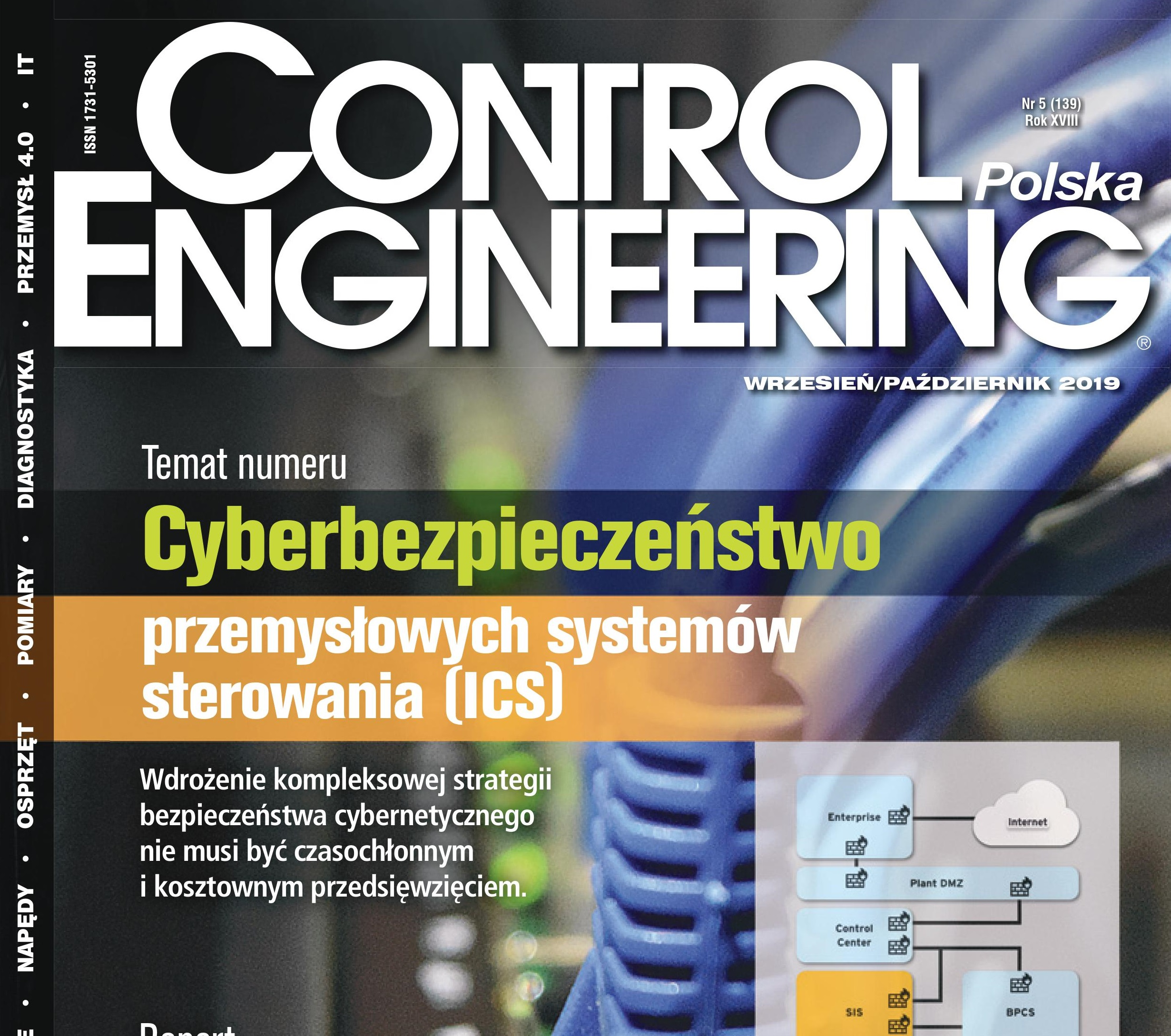 Read about us in the latest issue of Control Engineering (IN POLISH)